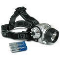 18-LED Headlamp Flashlight with Bike Clamp 3AAA