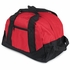 2 Pocket Mini Duffle Bag - Red and Black