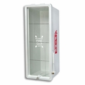 20 lb FireTech Fire Extinguisher Cabinet Surface Mount - Red or White