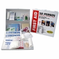 Plastic Cabinet 50 Person OSHA First Aid Kit