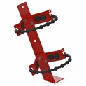 "Amerex 864 Extinguisher Bracket with Rubber Straps 6.5"" to 8"" Dia. Shells"