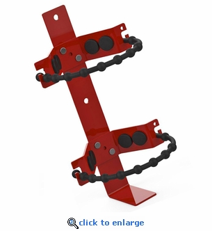 Amerex 864 Extinguisher Bracket with Rubber Straps 6.5