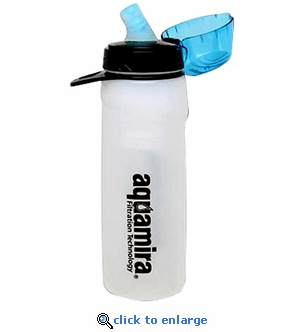 Aquamira Water Filtration Bottle