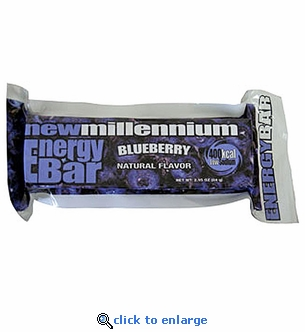 Blueberry Millennium Energy Bars - 400 Calories - Case of 144