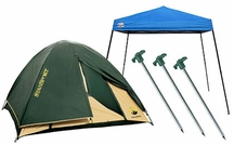 Tents, Tarps & Shelters