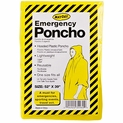 Case of 200 Adult Emergency Ponchos