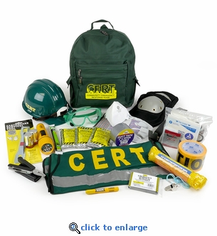 CERT Action Response Backpack Emergency Kit - By Mayday