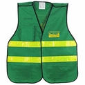 CERT Dark Green ANSI II Safety Vest