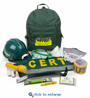 Mayday CERT Starter Kit - Emergency Response Backpack Kit
