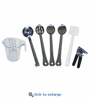 Complete 7-Piece Food Preparation Utensil Kit
