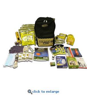 Deluxe 3 Person Emergency Backpack Kit