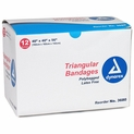 Dynarex 3680 Triangular Bandages - 40 x 40 x 56 - 12 Pack