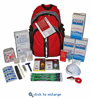 Earthquake Zone 3-Day Staff Backpack Survival Kit