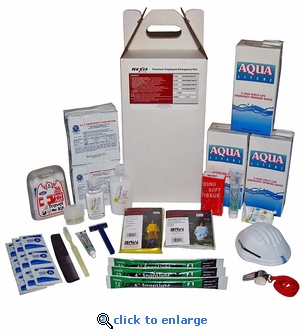 Earthquake Zone 3-Day Staff Survival Kit