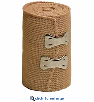 Dynarex Elastic Bandage 4'' x 4.5 yds. Single Roll