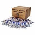 Minimum Order 20 Cases - SOS Emergency Drinking Water Pouches 4.225 oz. Case of 96