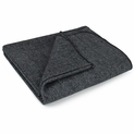 Gray 3 lb. Wool Blanket 60'' x 80'' - Emergency Relief - 60% Wool