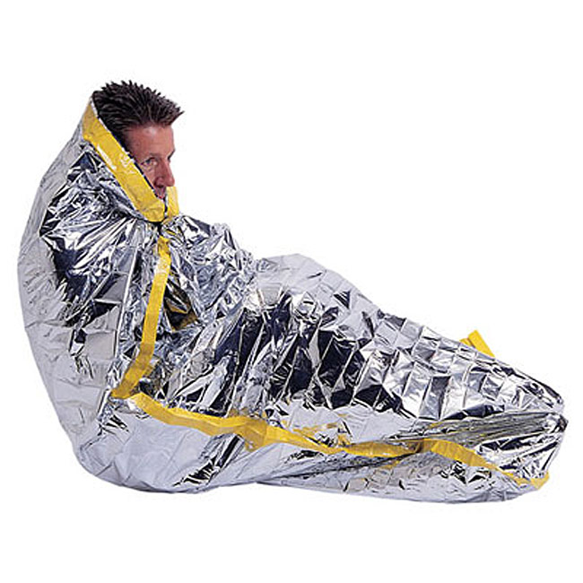 Mylar Emergency Sleeping Bag Wilderness Camping Outdoor Survival cold weather