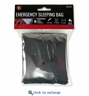 Emergency Survival Sleeping Bag  - 12um Thick - 83