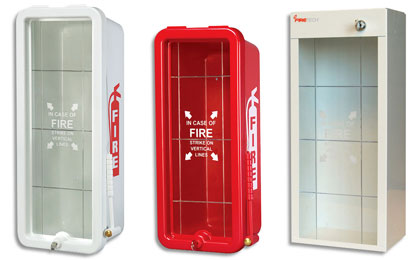 Fire Extinguisher Cabinets - Firetech - Fire Safety Evacuation ...