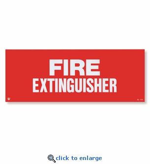 Fire Extinguisher Sign - 12