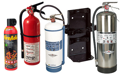 Fire Extinguishers - Home, Business & Vehicle Fire Safety