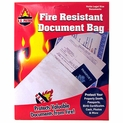 "4 Pack - Fire Resistant Document Bags - 10"" x 15"""