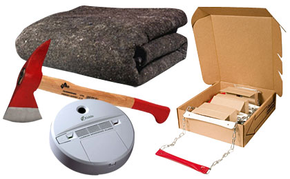Fire Safety Evacuation Supplies & Tools