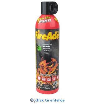FireAde 2000 Fire Suppression Unit - 16 oz Foam Extinguisher