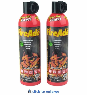 FireAde 2000 Fire Suppression Units - 2 Pack