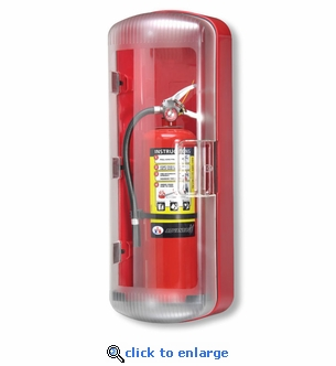 FireTech FT101 ABS Fire Extinguisher Cabinet