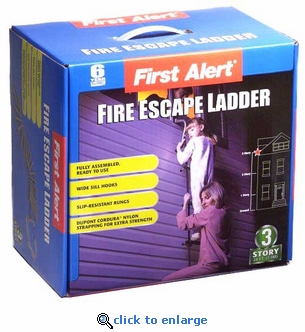 First Alert Fire Escape Ladder 3 Story - 24'