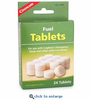 Fold-Up Stove Fuel Tablets