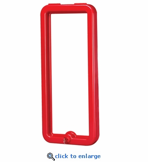 FT5F FireTech Frame & Lock for 5 lb Fire Extinguisher Cabinet