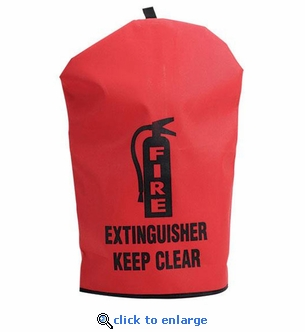 Heavy Duty Fire Extinguisher Cover - Large