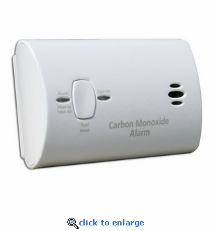 Kidde Basic Carbon Monoxide Alarm 9CO5-LP Battery Operated - Set of 4