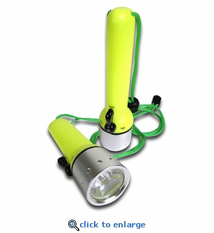 LED Waterproof Diving Flashlights - Set of 2