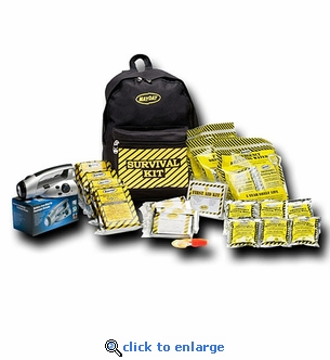 Mayday 3 Person Economy Emergency Backpack Survival Kit