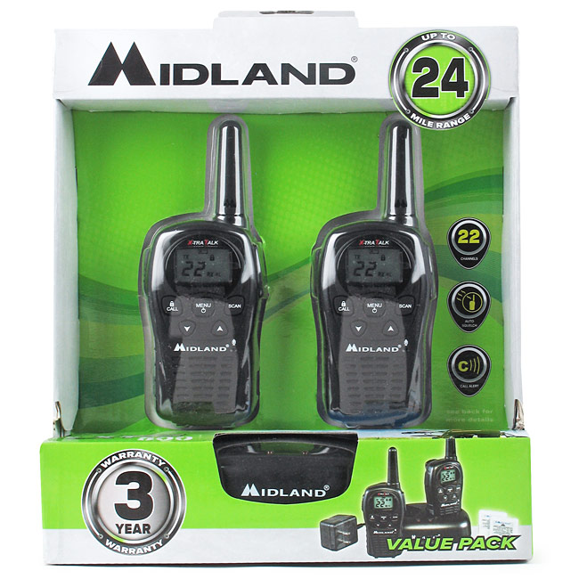 Midland Walkie Talkie Twoway Radios Pair Emergency Rhfiresupplydepot: Midland Walkie Talkie Radios At Gmaili.net