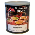 Mountain House Beef Stew - #10 Cans - Case of 6
