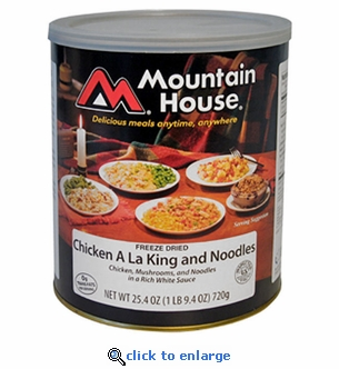 Mountain House Chicken ala King & Noodles - #10 Cans - Case of 6