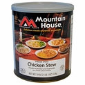 Mountain House Chicken Stew - #10 Cans - Case of 6
