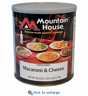 Mountain House Macaroni & Cheese - #10 Cans - Case of 6