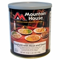 Mountain House Spaghetti with Meat Sauce - #10 Cans - Case of 6