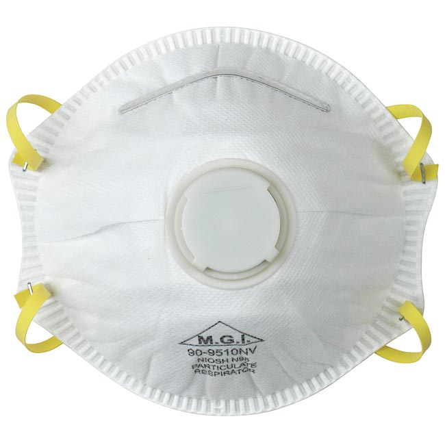 Particulate Mask Valve Respirator Exhale N95 With