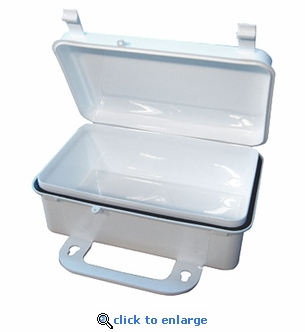Plastic Case 5'' x 8'' x 3'' w/ Handle & Gasket