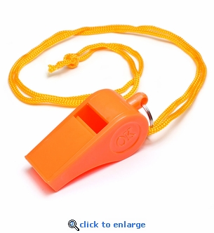 Plastic Whistle with 14