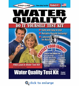 Pro-Lab Water Quality Home Test Kit