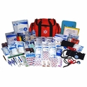 Professional EMT First Responder Medical Kit - 568 Pieces - Orange Bag