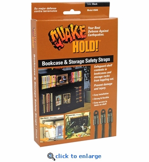 Quakehold! 5040 Bookcase & Storage Strap